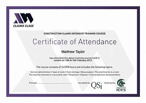 Certificate of attendance templates blank certificates for Certificate of attendance seminar template