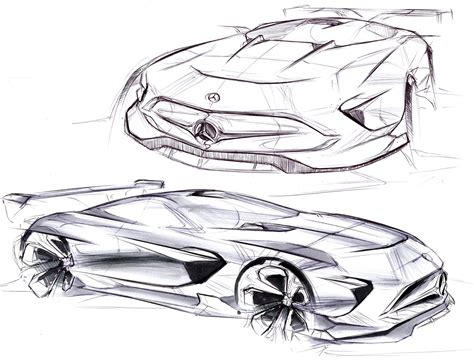 Automotive_sketchbook Ii On Behance