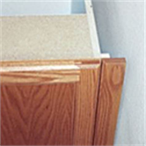 how to install a cabinet filler cabinet installation canyon creek cabinet company