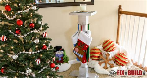 diy christmas stocking hanger fixthisbuildthat