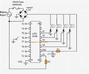 8 Function Christmas Light Circuit