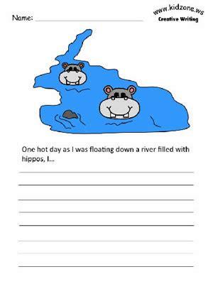 animals creative writing prompts