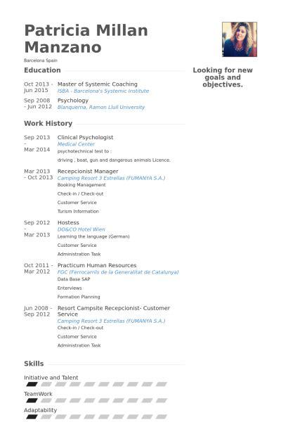 clinical psychologist resume sles visualcv resume