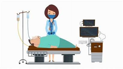 Doctor Animated Professional Characters Check Woman Animations
