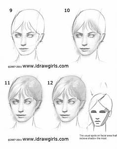 How to draw face - drawing and digital painting tutorials ...