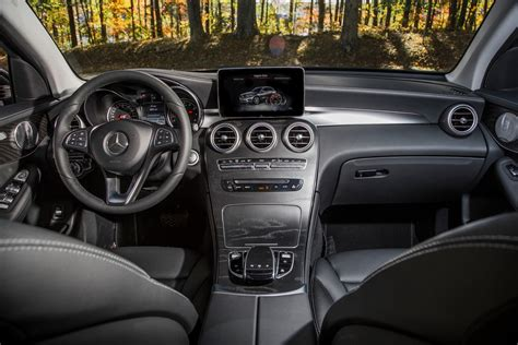 The interior follows the familiar wood, metal, faux leather, and real leather formula from the. 2016 Mercedes-Benz GLC300 Review