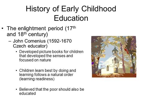 introduction and history of early childhood education 207 | History of Early Childhood Education