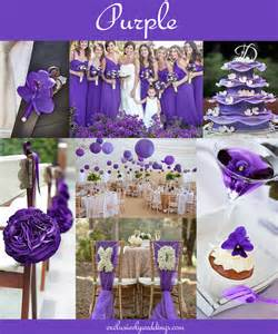 colors for wedding your wedding color don t overlook five shades of purple exclusively weddings