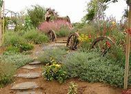 Wagon Wheel Landscape Ideas