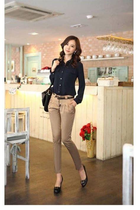 Korean Women Career in Simple Style Dresses Fashion Trends 2013 | V Luv Fash!on | Wardrobe ...