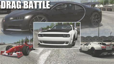 Okay, so we all know the srt demon is a drag racing machine that's not to be messed with. DODGE DEMON VS THE WORLD (FERRARI F1, CHIRON, VEYRON SS) 1/4 MILE DRAG BATTLE | ASSETTO CORSA ...