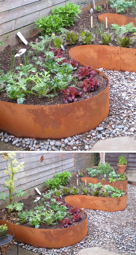 Ideas For Including Weathering Steel Planters Your