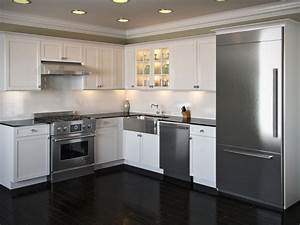 pictures of l shaped kitchen with island | Shaped Kitchen ...