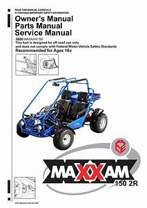 Ace Sports Maxxam 150 2r Owner S Manual