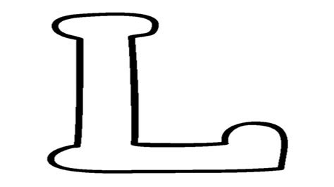 Capital Letter B Coloring Pages L Page On Letters