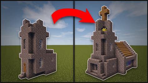 minecraft   remodel  village church youtube