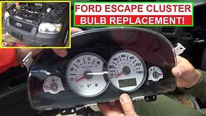 2001 Ford Escape Dashboard Warning Lights