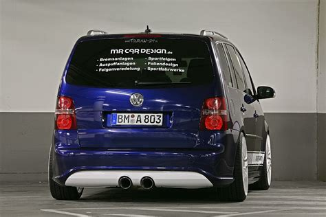 car design volkswagen touran introduced autoevolution