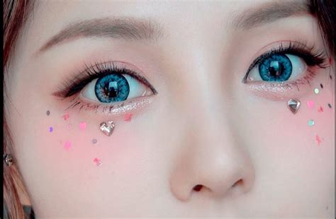 japanese kira kira makeup    viral  korea