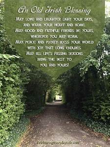 An Old Irish Bl... Peace And Plenty Quotes