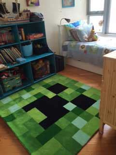 Minecraft Bedroom Rug by Minecraft Rug Home Decor