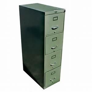 15quot bentson vintage industrial age metal file cabinet 50 for Metal document cabinet