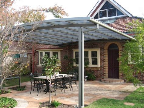 flat roof patio cover using polycarb twinwall roofing jpg