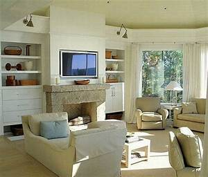 L shaped living room furniture layout interior design for Interior decorating l shaped living room