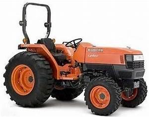 Kubota L4400h L4400 H Tractor Illustrated Master Parts