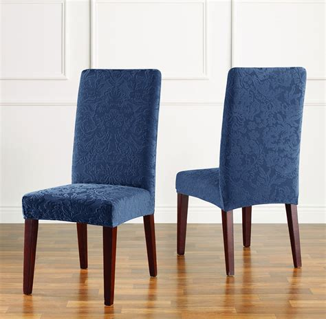 chair slipcover stretch jacquard damask dining chair slipcover