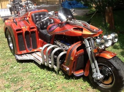 Custom Motorcycle Trike Like A Boss Hoss Trike Pro Street