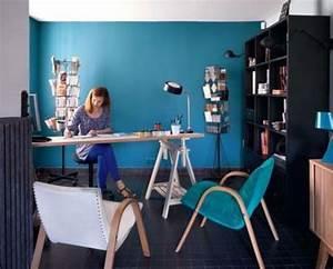 Couleur Bleu Canard Deco : couleur bleu canard dans mon salon ~ Melissatoandfro.com Idées de Décoration