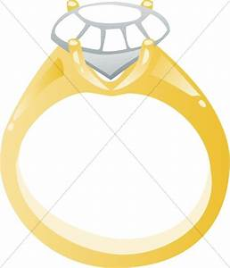 diamond engagement ring cartoon christian wedding clipart With cartoon wedding ring