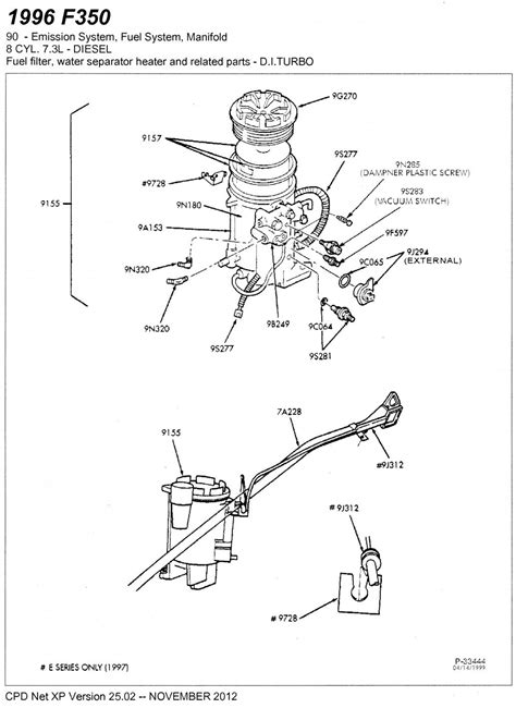 7 3 Liter Engine Fuel System Diagram by Must Read For 7 3 Powerstroke Owners Fpr Filter Diesel