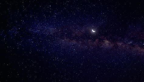 Hd Outer Space Pictures Moon And Stars Free Stock Photo