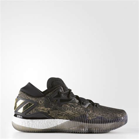 A Gold/Black adidas CrazyLight Boost 2016 - WearTesters