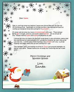 north pole santa letters north pole letters from santa claus With letter sent from santa