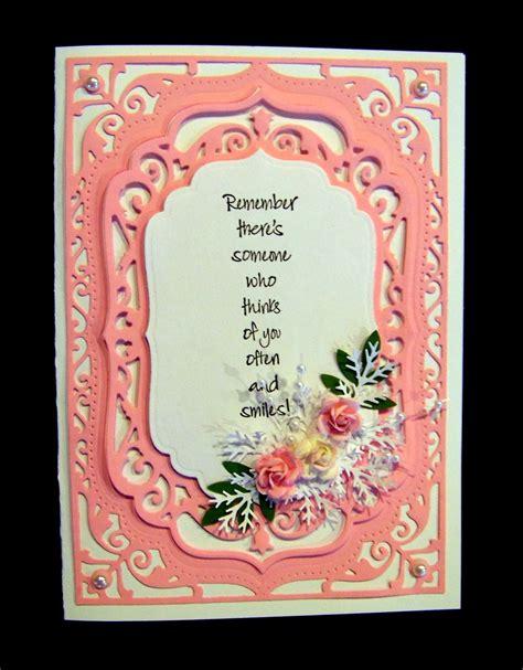 Suggest as a translation of card label copy Ann Greenspan's Crafts: Spellbinders Elegant Labels Four card