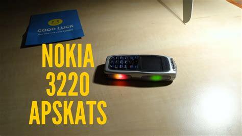 NOKIA 3220 apskats - YouTube