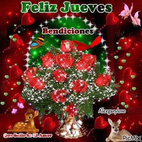 ImagenesNavideñas Con Flores Feliz Jueves