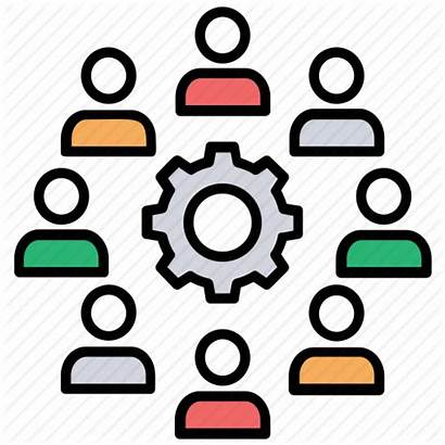 Management Icon Team Activity Development Teamwork Engage