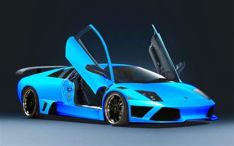 Fondo Pantalla Lamborghini Murcielago Blue