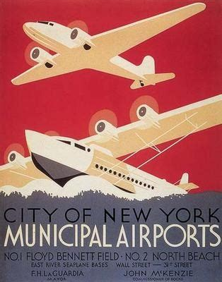 deco graphic design inspiration classic airline posters
