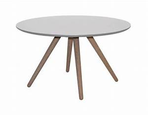 Beistelltisch Skandinavisches Design : couchtisch beistelltisch rund eiche wei schwarz modern ~ Lateststills.com Haus und Dekorationen
