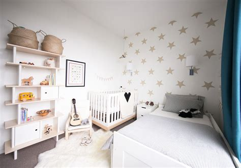 Rafa + Leo's Shared Baby & Toddler Room — Winter Daisy