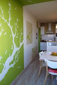 Decoration Peinture : dessin sur les mur de chambre avec int rieur de chambre ~ Nature-et-papiers.com Idées de Décoration