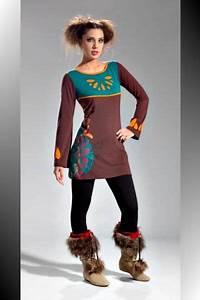 Vetement Femme Rock Chic : robe ethnique 559 tunique ethnique chic vetement femme ethnik vetement ethnique femme ~ Melissatoandfro.com Idées de Décoration