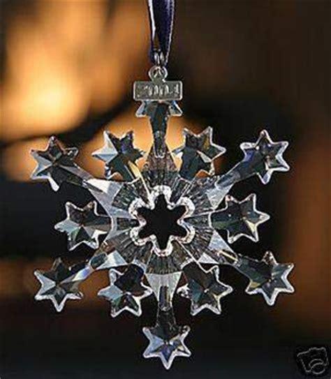 black friday swarovski 2004 annual christmas snowflake