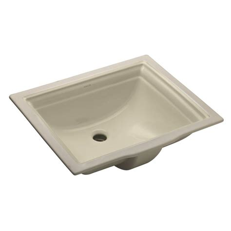 bathroom sink drain home depot kohler devonshire vitreous china undermount bathroom sink