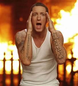 Celebrity tattoos: Eminem